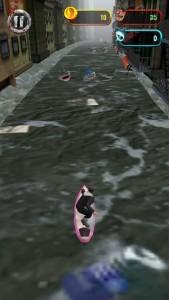 sharknadoのサーフィン面