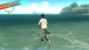 自転車で海に行く